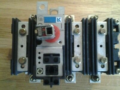Eaton Holec QA160N1 Disconector switch new old stock