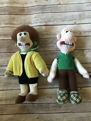 Wallace & Gromit, Friends and Enemies Plush Toys