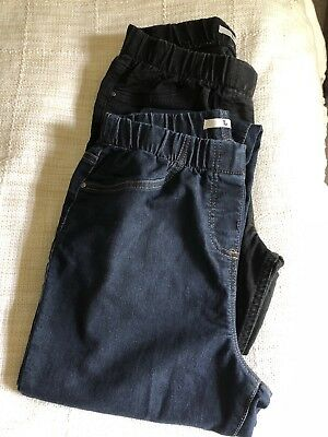 Maternity Jeans Size 12 - two pairs