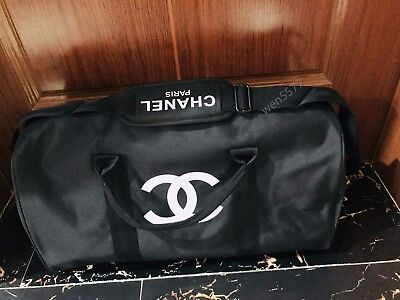 2017- 100% Authentic New Chanel Vip Duffle Weekend Bag Travel / Holiday Bag