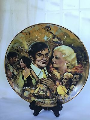 The King And His Ladies Golden Age Collector Plate Clark Gable / Certificate NIB