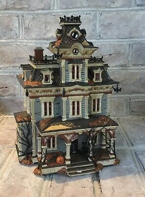 Dept 56, Halloween, Grimsly Manor, House Only, Snow Village, Department 56