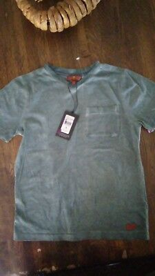 7 for all mankind dark green shirt size small boys 6 to 8 nwt