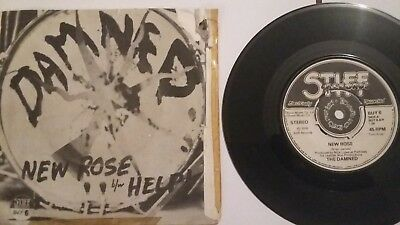Small collection of original The DAMNED 7'singles in Picture Sleeve  PUNK 1970's