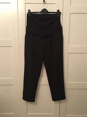 New Look Black Maternity Trousers Size 12