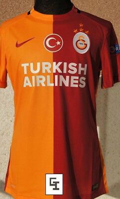 GALATASARAY Match Worn Shirt  Maglia Camiseta - Unwashed