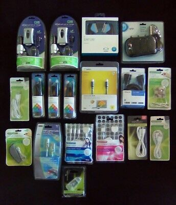 Bundle -18 Electrical leads, Cables, chargers, usb ports etc. BRAND NEW CAR BOOT