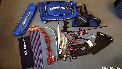 Full Recurve Archery Kit - SF Forged Plus etc Huge Lot - Fantastic Condition