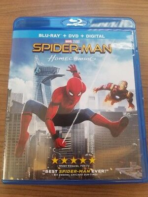 Spider-Man: Homecoming (Blu-ray Disc, 2017)