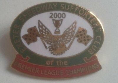 Exeter Falcons 2000 Speedway Badge