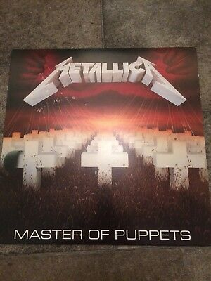 Metallica Master Of Puppets Vinyl Lp Import Heavy Metal Thrash Blackened