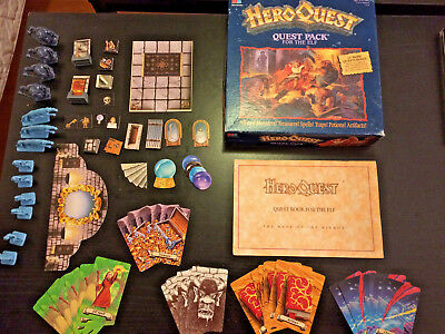 Elf Quest Pack, Complete HeroQuest expansion pack - The Mage of the Mirror