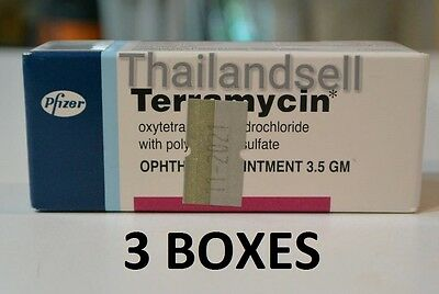 3 Boxes EYE Ophthalmic OINTMENT 3.5G INFECTION CATS DOGS inflammation Exp.11/21