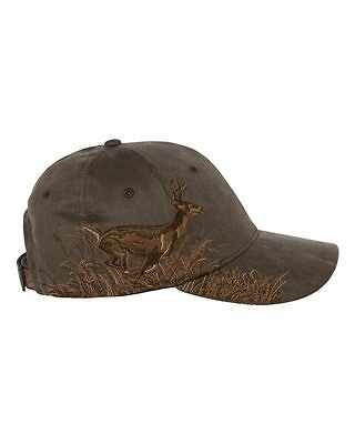 SALE 12 Dri Duck Realtree Running Buck Hats Embroidered Structured MidProfile