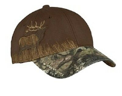 12 New Camouflage Hats W Deer/Duck/Bass/Elk Embroidered4U Structured MidProfile
