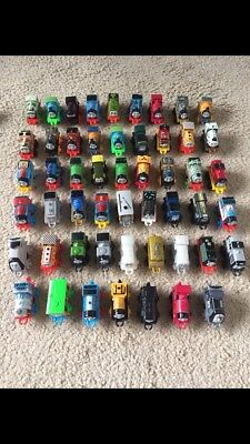 Thomas The Tank Engine Minis Collection of 52 Some RARE