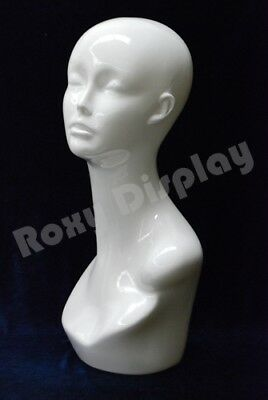 Female plastic Mannequin Head Wig Hat Jewelry Display #TINAW-PS
