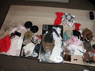 Gene Doll Ashton Drake Madra Large amount of Clothing Outfits and Accessories