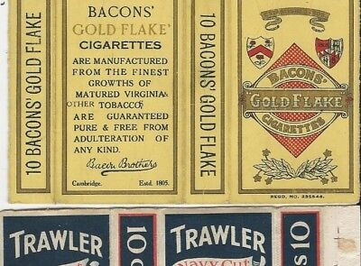 Bacons Gold Flake cigarette packet
