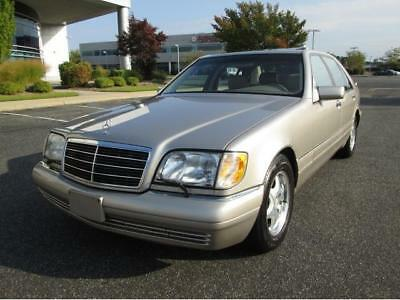 1998 Mercedes-Benz S-Class S 500 1998 Mercedes-Benz S500 Only 46K Miles 1 Owner Stunning Car Rare Find Must See