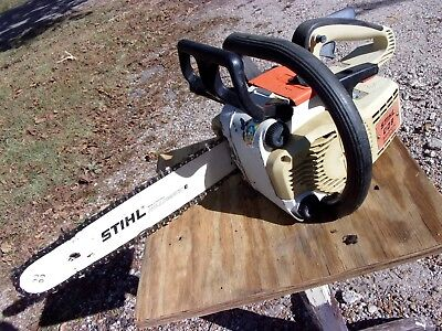 Stihl 009 Top Handle Arborist Trim Chainsaw Chain Saw Runs Parts or Repair Bar