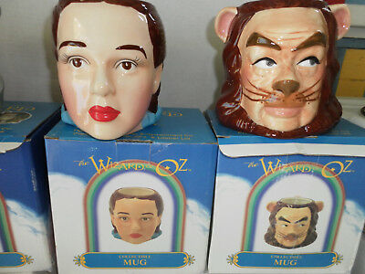 Wizard of Oz Collectible Mugs--1998