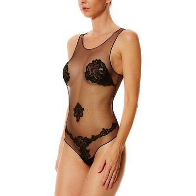 LA Perla body Paisley  in pizzo 40 FR ,44 IT,12 UK, S US ,DE 38 ,LOOK DA VIP