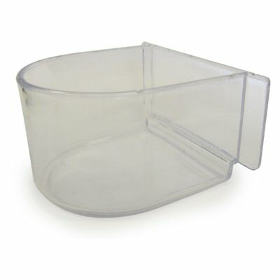 YML Lot of 12 Clear Plastic Cup for Breeding Cages