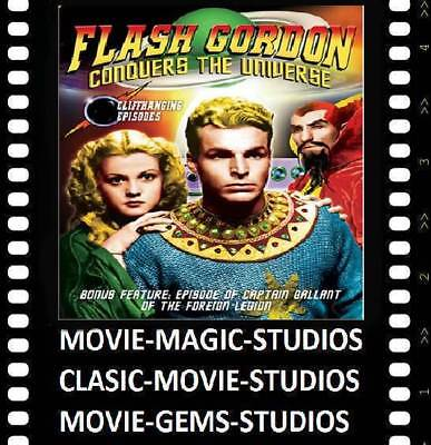 Flash Gordon Space Soldiers Conquers The Universe--Rare 400Ft B/w Super-8 Sound