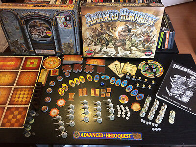 Advanced HeroQuest - Superb condition, complete and with box