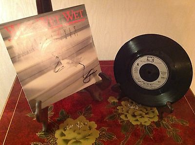 "Wet Wet Wet ~ A. Angel Eyes ~ B. We Can Love 7"" Single 1987 ~ Picture Cover"