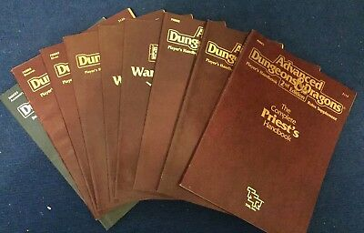 AD&D 2nd Edition Handbook Collection