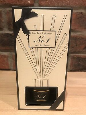 Aldi Luxury Reed Diffuser No 1 - Lime Basil and Mandarin - SOLD OUT - New in Box