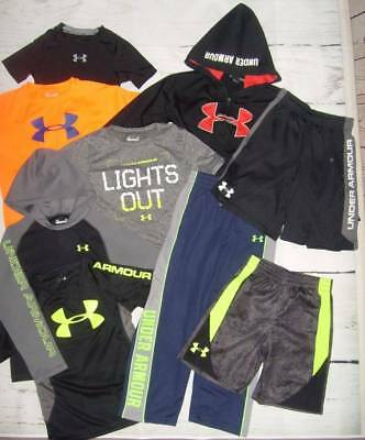 "WOW!  ""ALL"" UNDER ARMOUR Boy's Sz 6 Clothes Lot - Shirts, Pants, Hoodie, Shorts!"