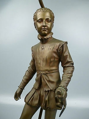 Henry IV as boy Bronze Sculpture Af. F J Bosio 1768-1845 E Colin CIE Foundry BR