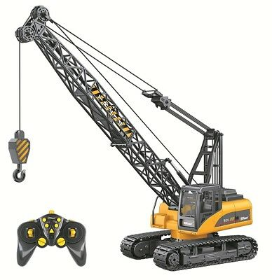 Top Race® Top Race Professional Series 15 Channel Remote Control Crane, Battery
