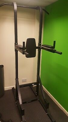 Marcy Power Tower Pull Up Bar Chin Dip Dipping Fitness Workout Station