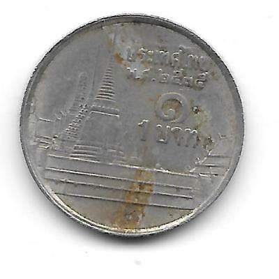 Thailand 1-baht in Fine Condition