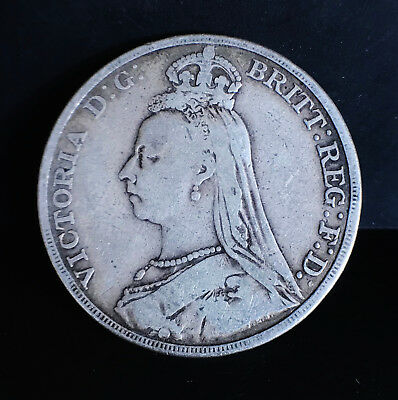 1891 Queen Victoria Crown F