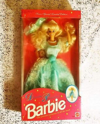 1992 Mattel DREAM PRINCESS BARBIE #2306 Sears Special Limited Edition