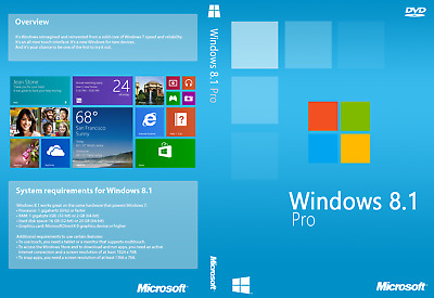 Windows 8,1 | Professional Pro Retail Key 32 64 BIT - 100% !! Licenza
