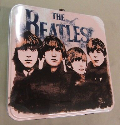 Mint The Beatles Collectible Tin/Tote Lunch Box Rare Collectible