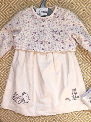 Humphreys Corner Mothercare 3-6 Months BNWT White Dress And Floral Cardigan Set
