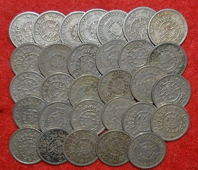 PORTUGAL COLONIES 30 COINS LOT  Angola