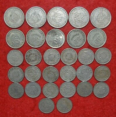 PORTUGAL COLONIES 30 COINS LOT  Angola  ( $50 / 2$50 / 5$00 )