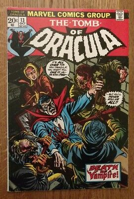 Tomb of Dracula #13, F/VF, Origin of Blade the Vampire Slayer, 10, ready for CGC