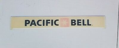 vintage Pacific Bell Telephone Company.    PHONE BOOTH SIGN