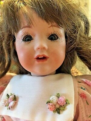 JDK #237 REPRODUCTION 10 inch FULLY JOINTED BISQUE HILDA DOLL NEEDS LITTLE TLC