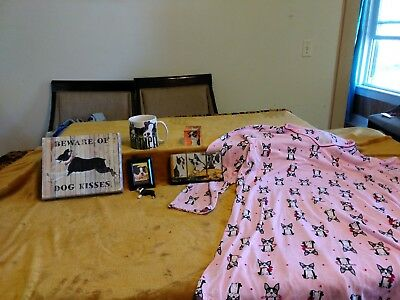 Boston Terrier Dog Fun Stuff for Yourself or a great gift (lot)
