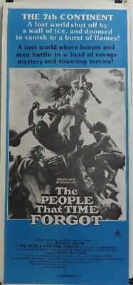 The People That Time Forgot (Original Australian Daybill 1977)